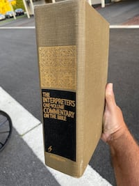 The Interpreters One Volume Commentary on the Bible Baltimore, 21220