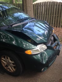 Front collision damaged - good for parting out