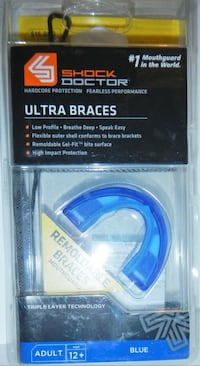 Shock Doctor Remoldable Ultra Braces Mouthguard Andover, 01810