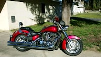 red and black touring motorcycle Redlands, 92374