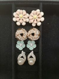 Four Pairs Earrings Set. Concord, 03301