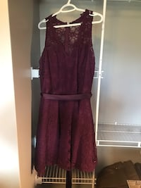 Women's maroon sleeveless dress Edmonton, T5E 5C6