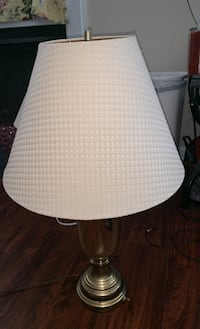 Gold plated metal lamp Virginia Beach, 23455