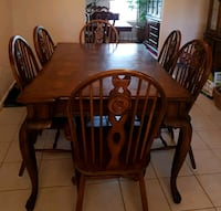 Wood Dining Set Stafford, 22554