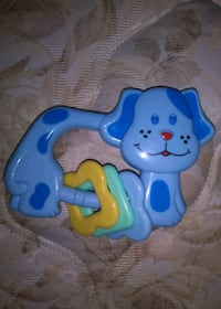 Blue Plastic Baby Toy