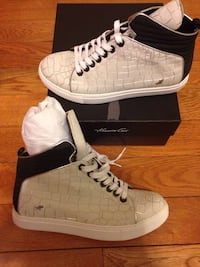 Kenneth Cole High Top Sneakers Size 8 (women's) Silver Spring, 20906