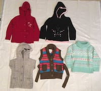 girl's sweaters and vests Gurnee, 60031