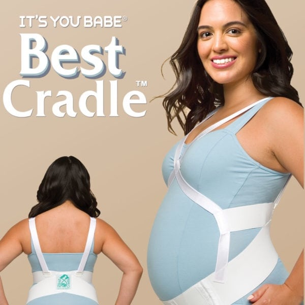 Cradle prenatal support belt