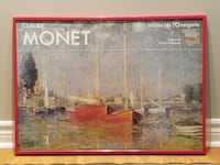 Claude Monet Framed Poster 540 km