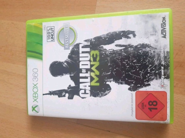 Call of Duty MW3 Xbox 360 Spieletui