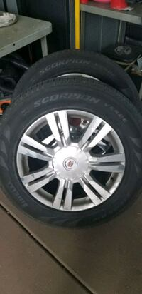 Cadillac SRX wheels and tires, 4 total West Palm Beach, 33406