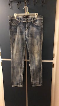 Blue denim stone wash jeans 30 in waist Fremont, 94536
