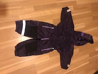 Winter overall with thick fleece lining. Size 80.  6635 km