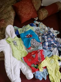 55 piece of 0-12 month baby boy clothes