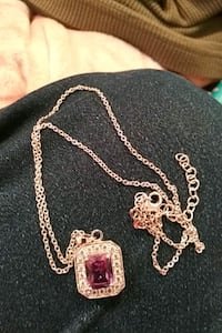 silver chain necklace with  pendant Annapolis