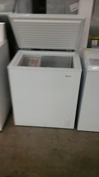 New in box 5cf Chest freezer full Warranty  Fort Collins