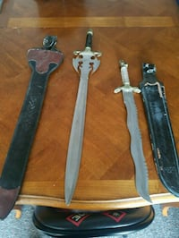 Two big blades Arnold Schwarzenegger & snake sword Bloomfield, 07003