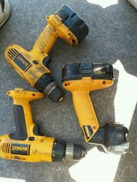 two DeWalt cordless hand drills Warrenville, 29851