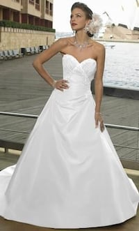 MAGGIE SOTTERO & MIDGLEY COUTURE. Original $1,500 (size14) and dry cleaned  Triangle, 22172