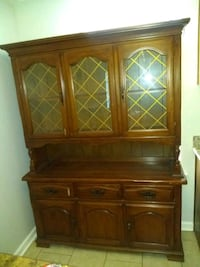 It's a old antique china cabinet