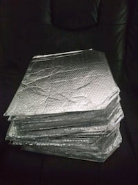 8nsulated bags with bubble wrap inside