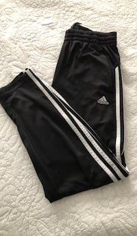 black and white adidas track pants 536 km