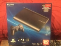 Sony ps3 console with controller box
