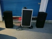"sa audio dual 12"" pa speakers 1200 watts each. Brampton, L6W 3K1"
