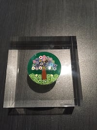 Acrylic mille fiori paperweight Vaughan, L4J 4Y4