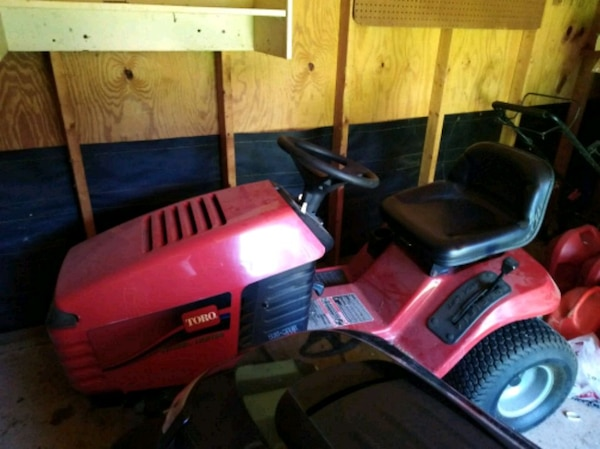 Toro riding mower