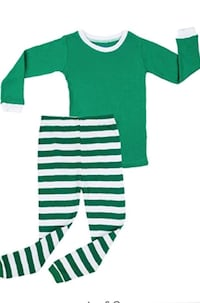 green and white crew-neck shirt Brooklyn, 11203