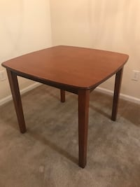 """Wonderful wood table. 30"""" Tall and 34"""" Square. Good Condition   Covington, 30014"""