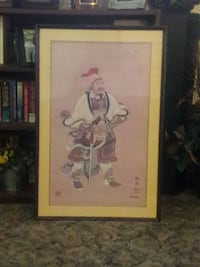 T'ang warrior 1 painting Albuquerque, 87123