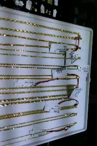 10K -14K ROPE CHAIN LOVERS REAL GOLD $140 & UP
