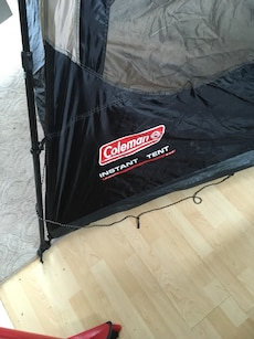 Coleman 4 person quick set tent