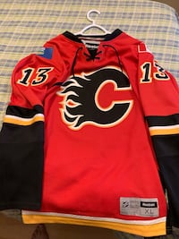 Flames jerseys extra large