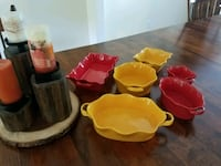 Fall Colorful Serving Dishes Rochester Hills, 48309