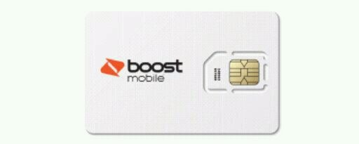 Photo In need of a boost mobile sims card