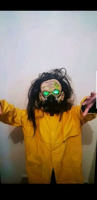 kids zombie mask will fit adults  Pasadena, 91107