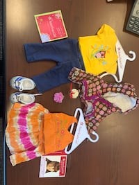 American Girl Doll two used Outfits Ocean Grove, 07753