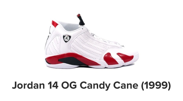 ff1df1656828af Used Jordan 14 OG RETRO CANDY CANE for sale in Mississauga - letgo
