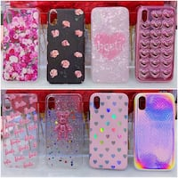 PRICE IS FIRM, PICKUP ONLY - 24 iPhone X Phone Cases Toronto, M4B 2T2