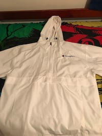 White champion windbreaker  Lanham, 20706