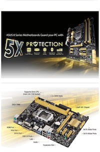 Motherboard 4 th generation intel Mississauga, L5N