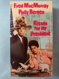 Kisses for my President vhs