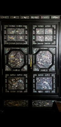 Black Lacquer Mother of Pearl Cabinet Ellicott City, 21042