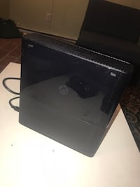 black Sony PS3 slim console Manassas, 20109