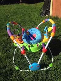 baby's blue, green, and yellow jumperoo Woodbridge, 22193