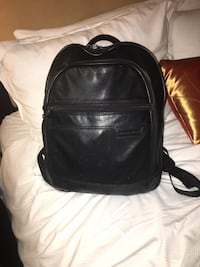 Genuine black leather backpack by Briggs and Riley Palm Springs, 92264