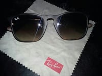 black framed Ray-Ban sunglasses Edmonton, T5T 3C1